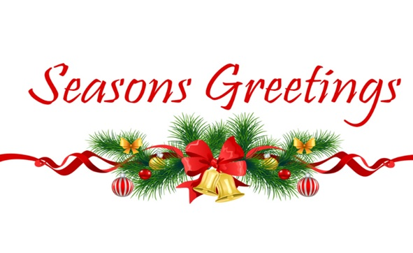 Seasons greetings to you and your family